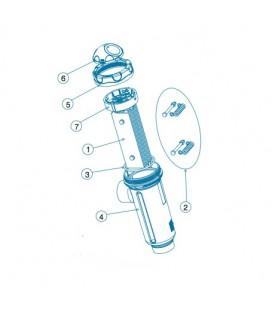 Soporte electrodos Idegis BIP. R-015-05-BIP