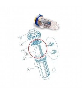 Soporte electrodos Idegis. R-015-05