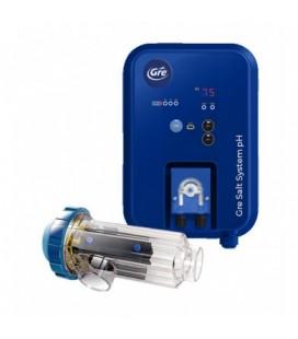 Clorador salino y Ctrl. pH. Gre  21g/h. SCGPHP100