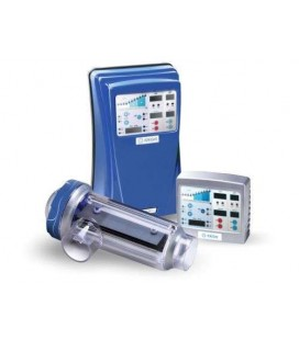 Electrólisis salina DOMOTIC 24gr/Cl/h Control pH/ORP IDEGIS. DOM24+