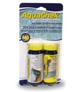 Tiras analíticas Combi sal y cloro Aquachek. M228