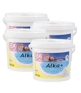 Caja 4 ud CTX 21. Incrementador de alcalinidad. 6kg. 509515