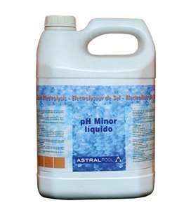 MINORADOR DE pH LÍQUIDO PARA ELECTROLISIS DE SAL 5 L