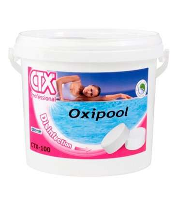 CTX 100. Desinfectante oxigeno en tabletas 1kg. 03177